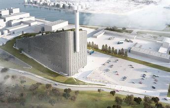 Copenhill abrirá el 1 de diciembre: Esquí sobre una planta de residuos