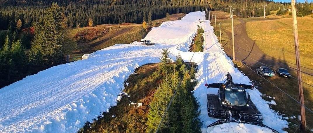 Kvitfjell se adelanta al resto de Europa y abre su temporada de esquí