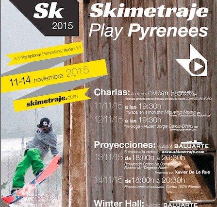 Programa oficial del festival Skimetraje 2015