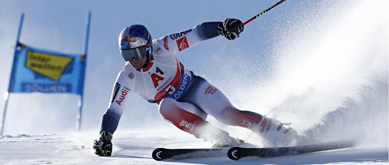 Alexis Pinturault gana en Soelden el Gigante de la Copa del Mundo de esquí