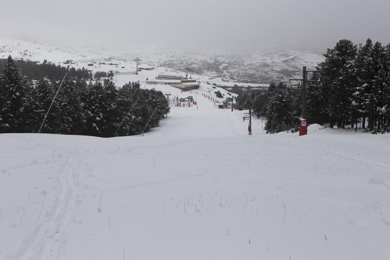 Y llegó a Teruel la nieve