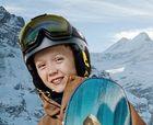 Esquiar en familia en Suiza