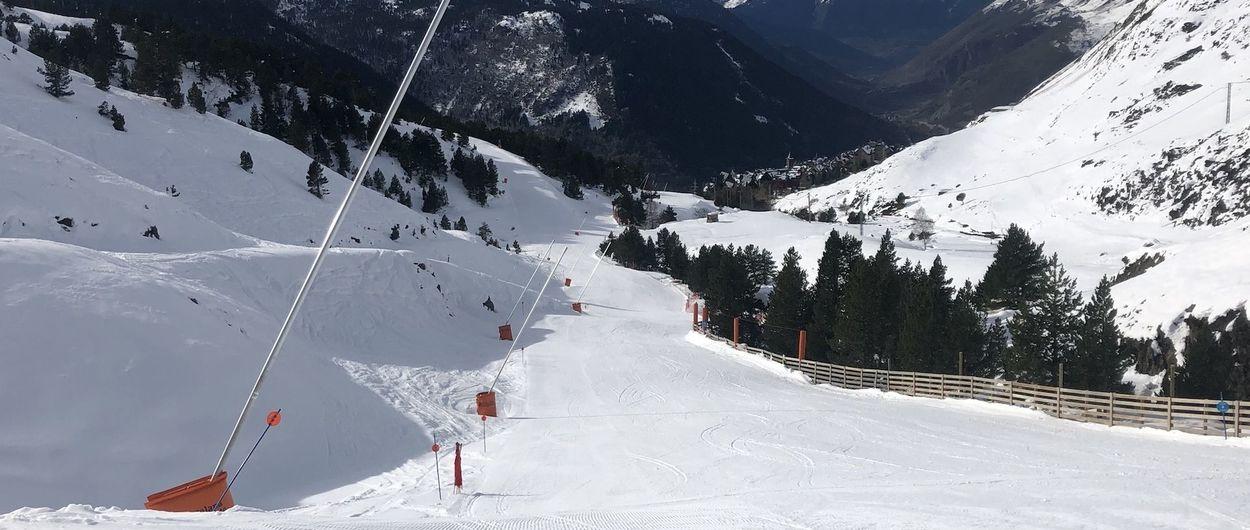 Baqueira Beret abre este sábado con casi todo su dominio esquiable