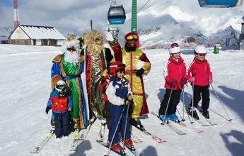 Actividades navideñas y muchas pistas abiertas en Aramón