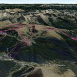 Vista Google Earth Soldeu El Tarter Canillo  2019/20
