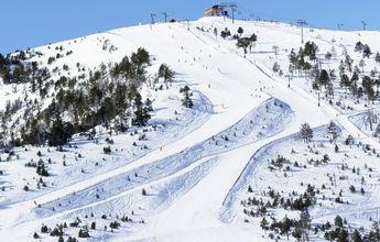 Grave accidente de una esquiadora de 8 años en una pista verde de Pal Arinsal