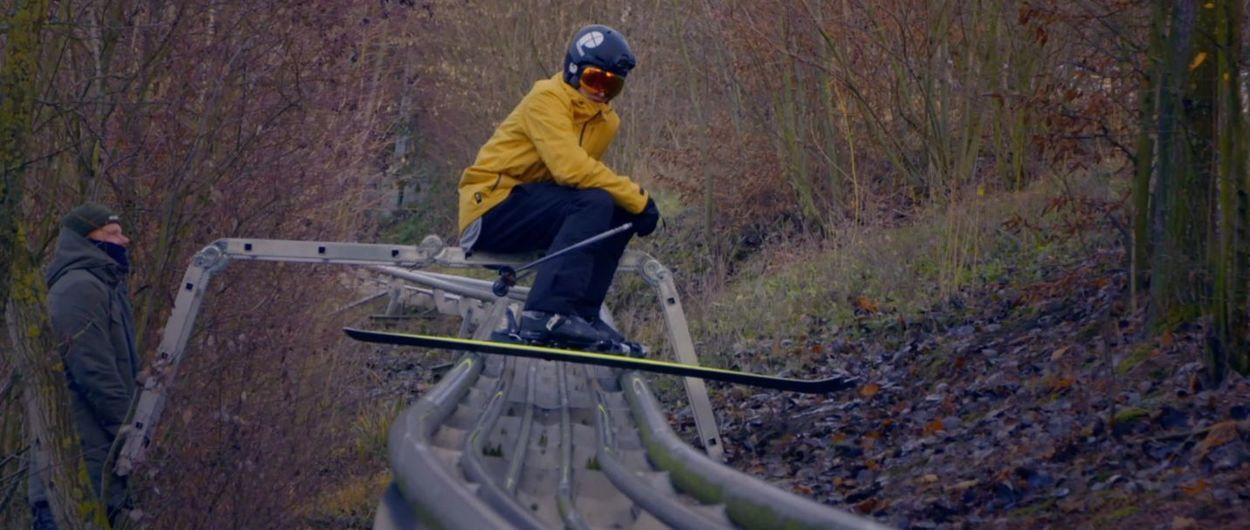 Esquiar sobre un tobogán: la loca idea de Protest y cinco holandeses