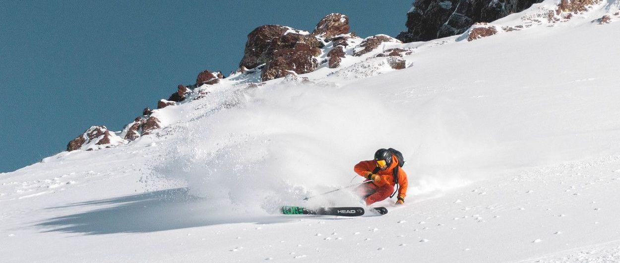 Astun-Candanchú sábado 26 de Enero. Precioso día en el valle, por fin montes blancos y sol