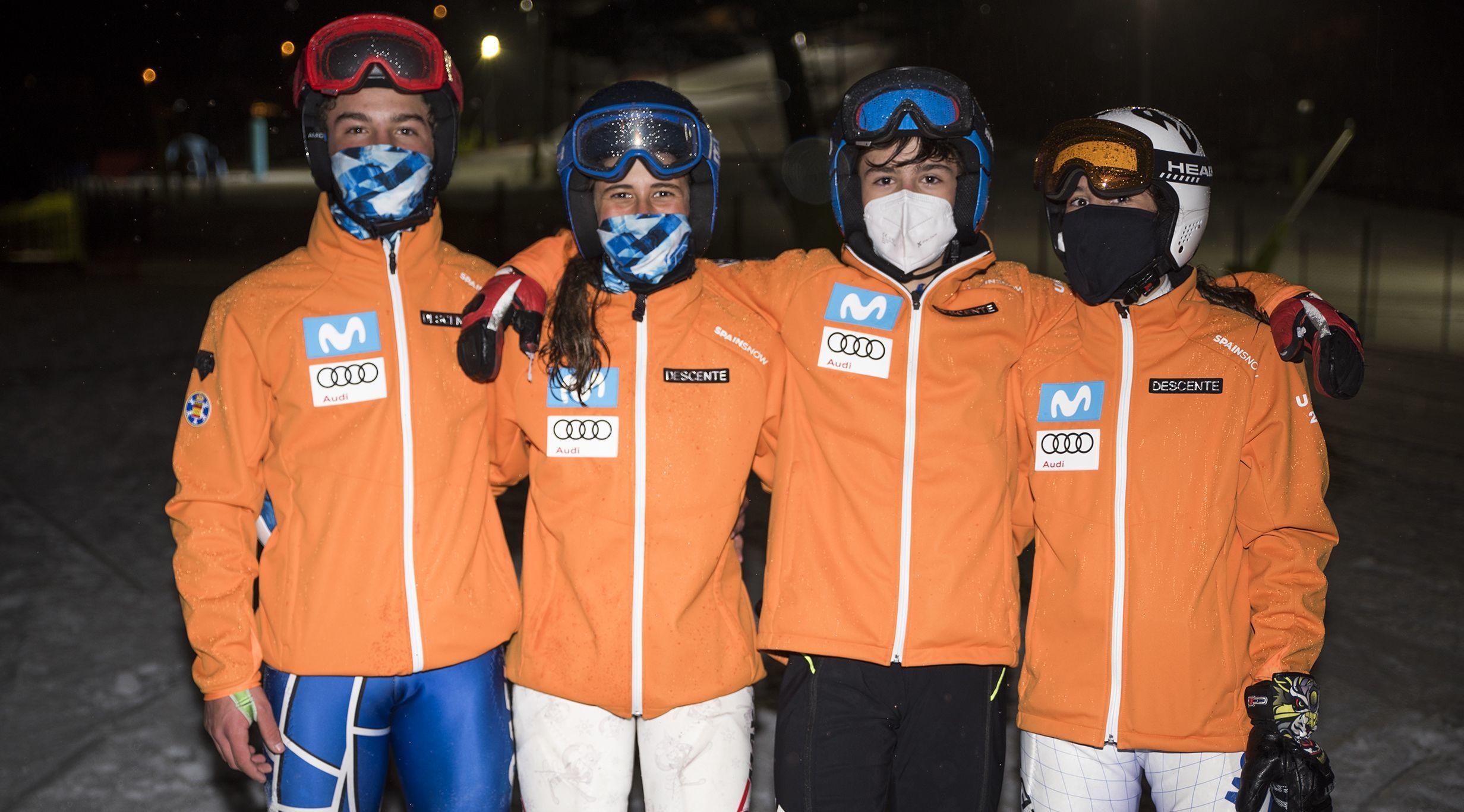 El equipo español gana el National Team Event del Trofeo Borrufa 2021