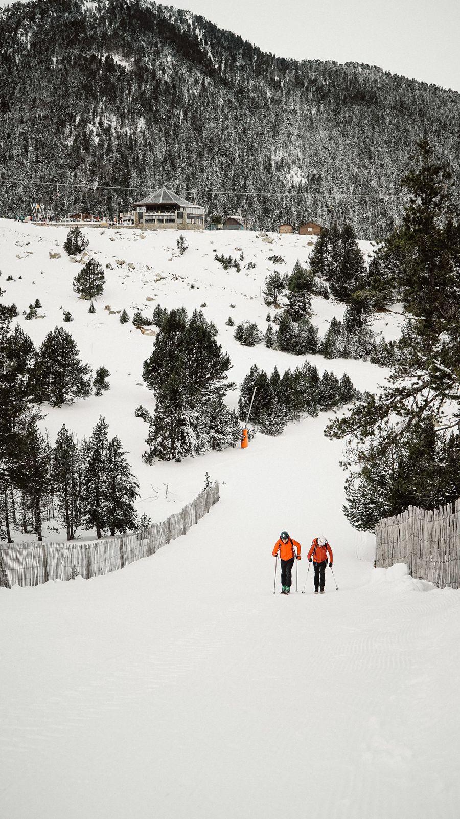 esqui montaña en La Molina