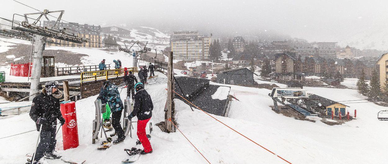 Vuelve la nieve al Valle