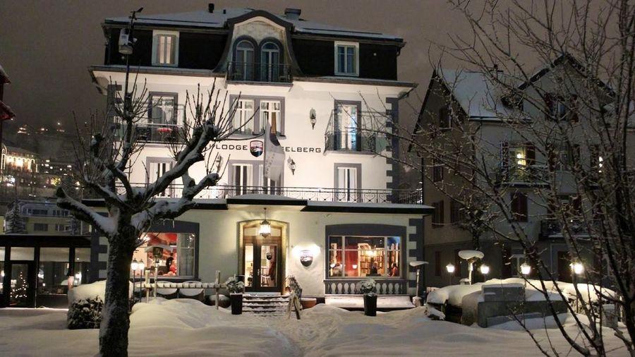 El mítico, Ski Lodge Engelberg