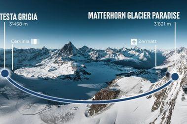 Alpine Crossing: el nuevo 3S que conectará Italia y Suiza por Zermatt