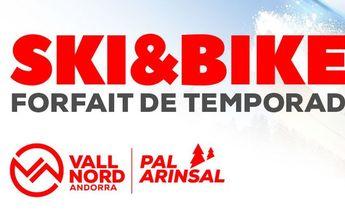 Pal Arinsal lanza ya su forfait de temporada Ski&Bike 2019-2020
