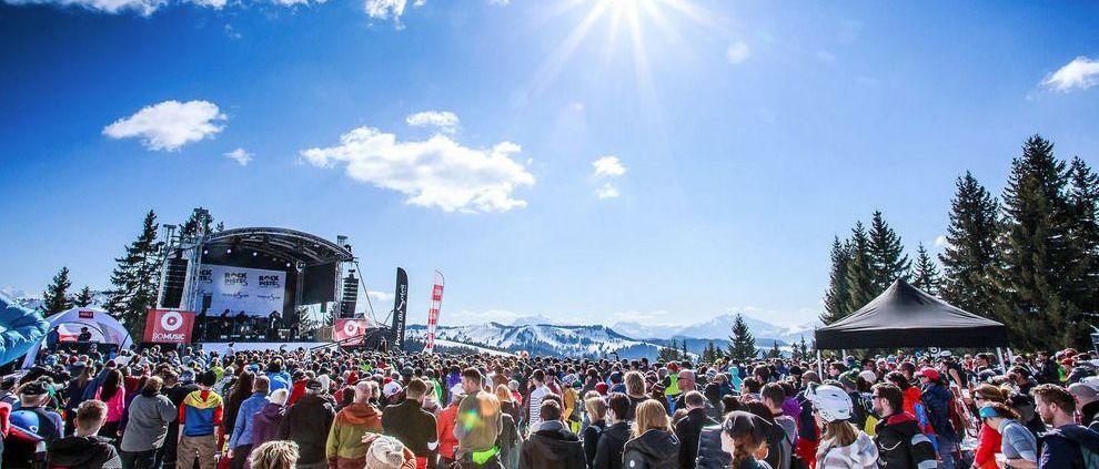 Rock de Pistes 2020: Portes du Soleil se llena de ritmo, luz y color