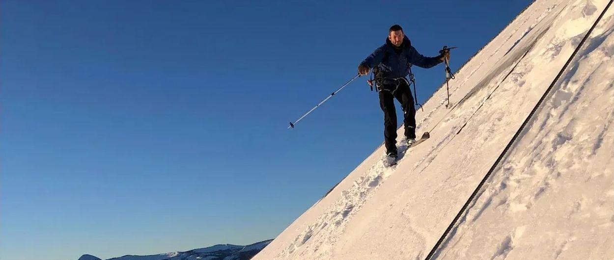 Logran lo imposible: bajar esquiando por el imponente Half Dome de Yosemite
