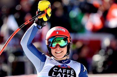Federica Brignone gana el Súper-G de Val di Fassa