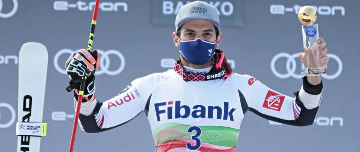 Mathieu Faivre gana el Slálom Gigante de Bansko