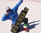 Se bate el record del mundo de velocidad sobre esquís