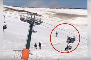 Acaba con su coche en mitad de la estación de esquí Val di Fassa