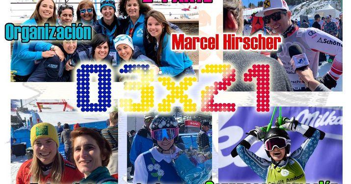 03x21 Segunda parte de las Finales de la Copa del Mundo. Marcel Hirscher, Frida Hansdotter... y más!