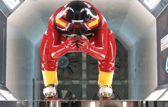 Equipo español de la RFEDI de esquí de velocidad