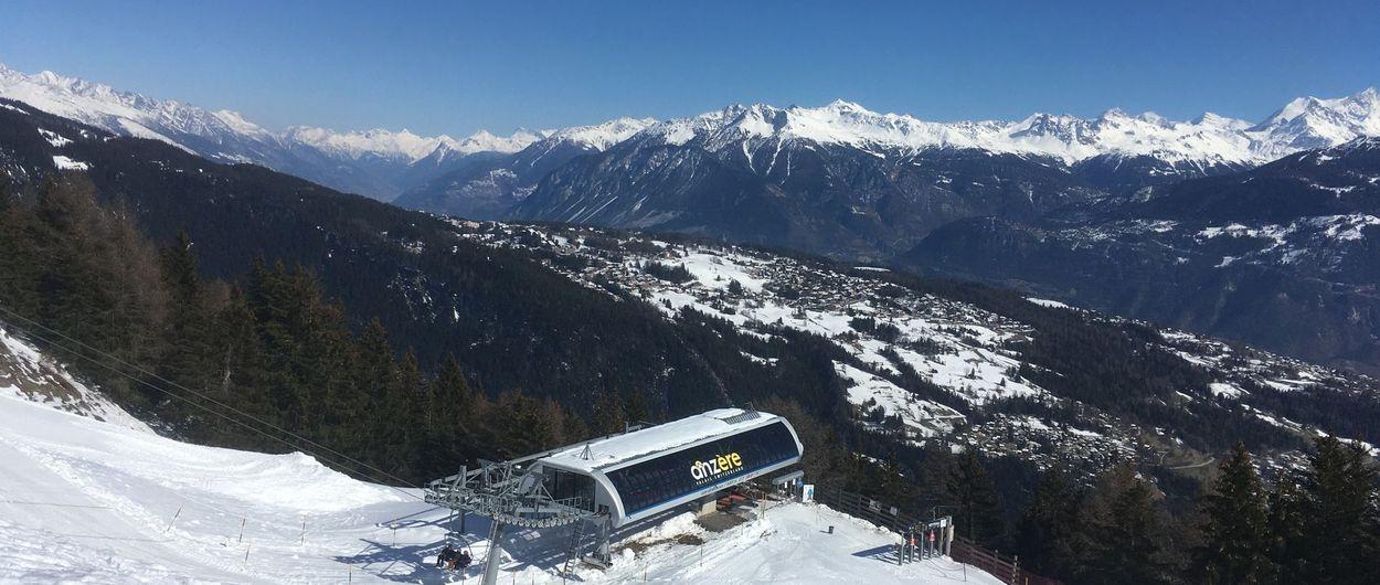 Anzère - Una terraza sobre el Valais