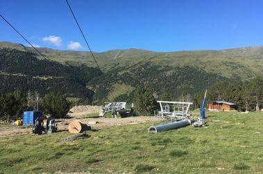 Saetde construye dos nuevas pistas de esquí en Grau Roig