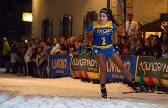 Livigno ha acogido una competición de esquí en pleno Agosto