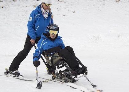Jornada de ski adaptado en La Parva