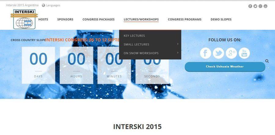 Interski 2015 Argentina web