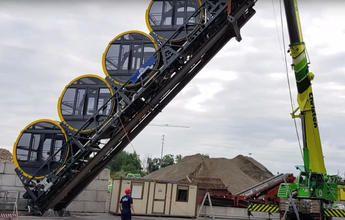 Stoos ultima el funicular más empinado del mundo