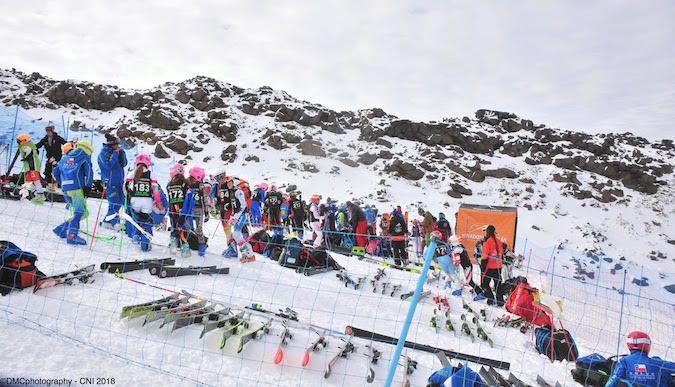 Nevados de Chillán recibió el Nacional Infantil de Ski