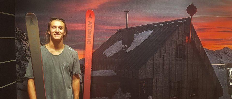 Javi Lliso esquiará con Atomic Skis esta próxima temporada