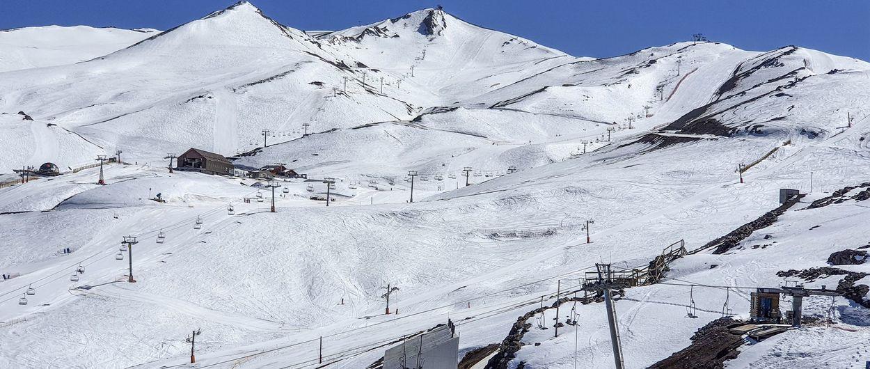"""Valle Nevado a fines de Septiembre: Sol y nieve """"crema"""""""