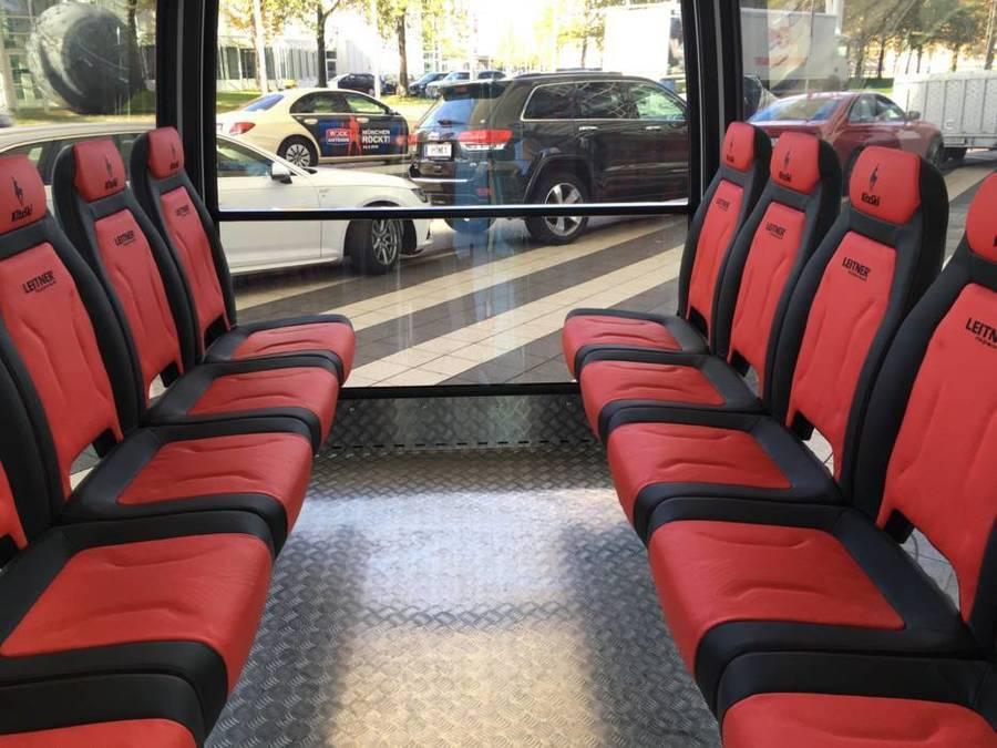 Kitzbühel Fleckalmbahn interior