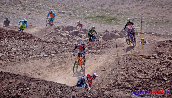 Concurrida apertura del bike park de La Parva