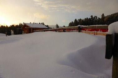 Les Angles y Formiguères reciben un nevadón