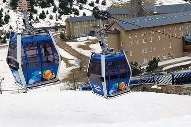 La estación de esquí de Vall de Núria tendrá un nuevo elevador la próxima temporada
