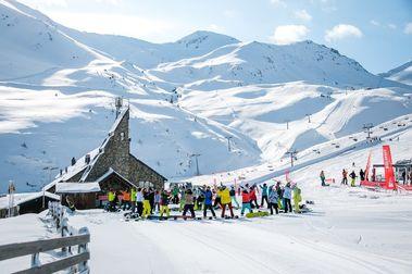 El Procicat no modifica nada: se podrá seguir esquiando en el Pirineo de Lleida