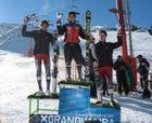Primera competición en categoria juvenil y primera victoria