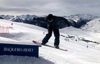 Baqueira Beret renueva su snowpark Era Marmota