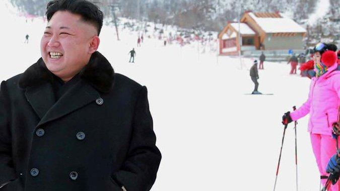 El tipo que se ríe del mundo construyendo un centro de ski