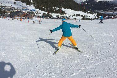 ¿no sabes esquiar? FELICIDADES!