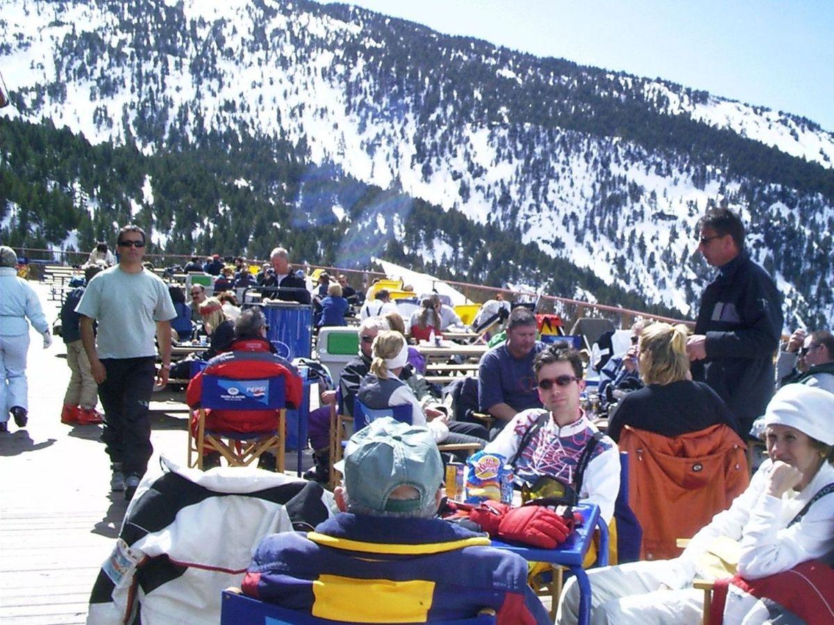 El esquí de primavera
