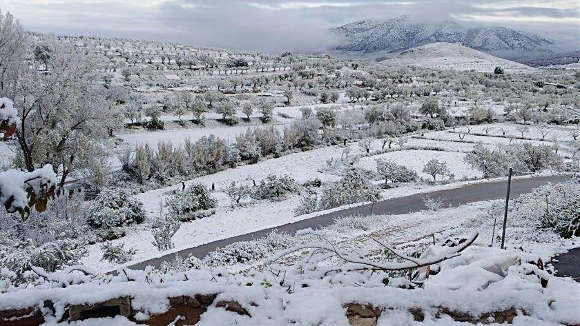 Nieve en Almeria