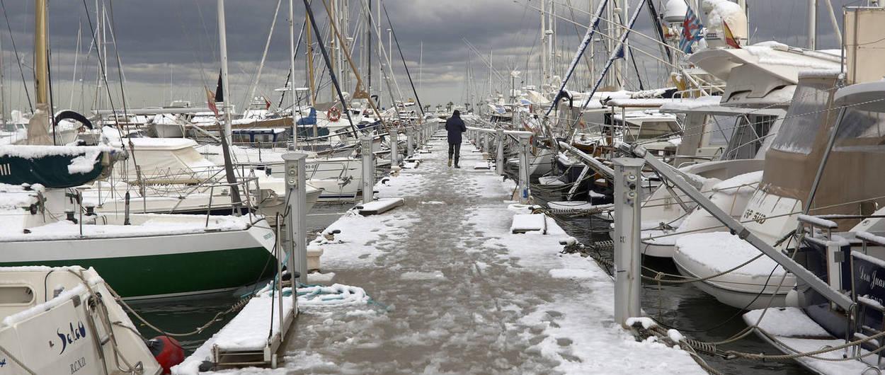 Llega un frente muy frío con nevadas a cotas inusualmente bajas