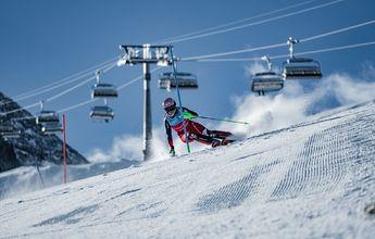 Ganadores de los Campeonatos de España Audi U21/18 de esquí alpino en Espot