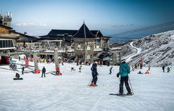 11.300 personas esquiaron el fin de semana en Sierra Nevada