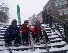29 abril: sigue nevando, seguimos esquiando